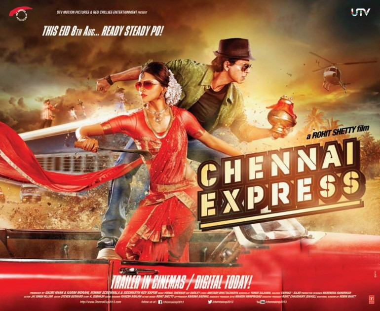 2 - Chennai-Express-Poster