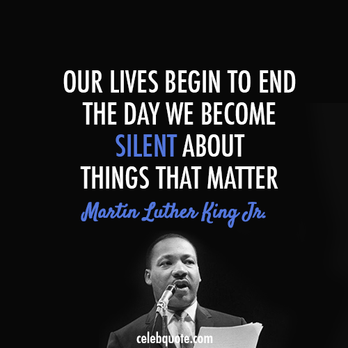 Inspiring Quote - Remembering Dr. Martin Luther King Jr.