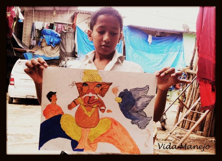 VidaManejo-Dharavi-Painting-2