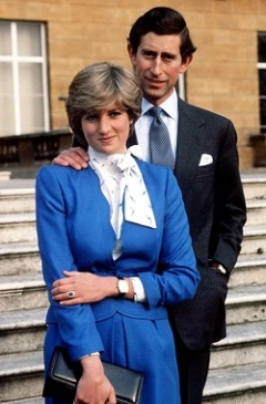 Vida Manejo, Princess Diana, Blue Sapphire, Engagement Ring