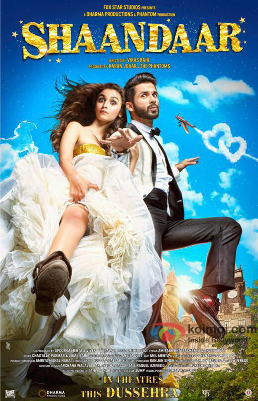 """Shaandaar-Official-Poster-2"" by Source (WP:NFCC#4). Licensed under Fair use via Wikipedia - https://en.wikipedia.org/wiki/File:Shaandaar-Official-Poster-2.jpg#/media/File:Shaandaar-Official-Poster-2.jpg"